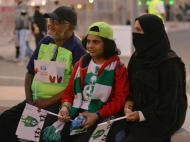 Arábia Saudita: Al-Ahli-Al-Batin foi o primeiro jogo com mulheres na assistência