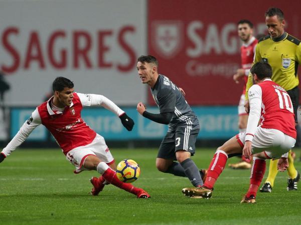 Resultado Benfica Hoje: Sp. Braga-Benfica, 1-3 (resultado Final)