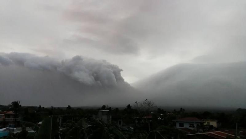 Vulcão Filipinas