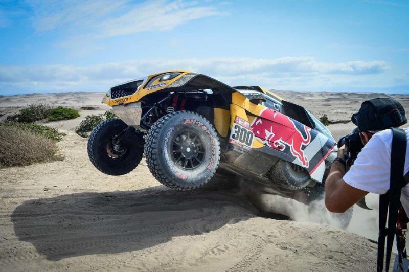 Monsieur Dakar dá a volta na etapa 8
