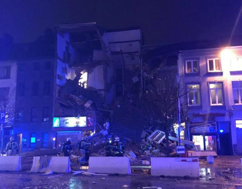 Explosão causa vários feridos e colapso de prédio em Antuérpia