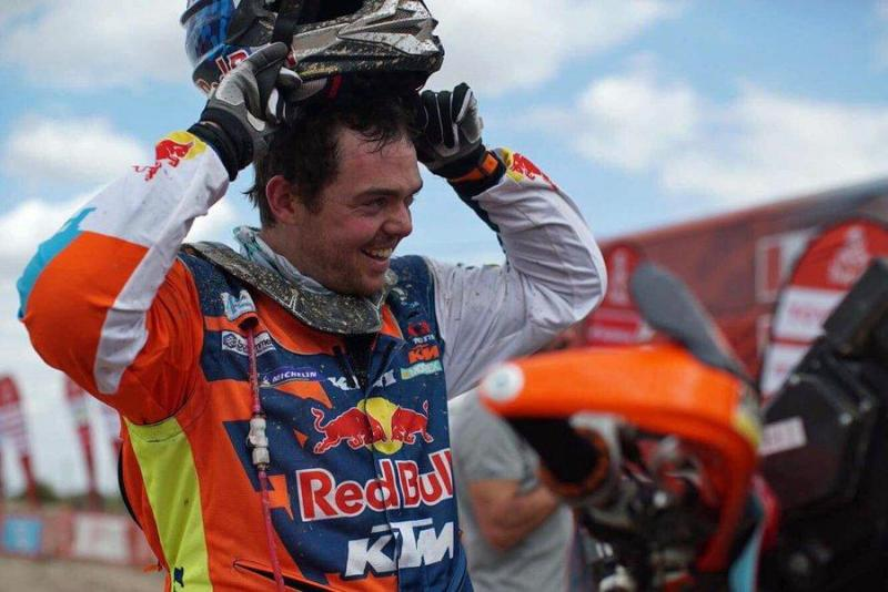 Matthias Walkner é o novo líder do Dakar
