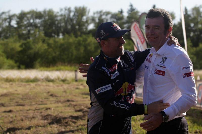 Stéphane Peterhansel e Bruno Famin - Dakar 2017 (Reuters)