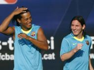 Ronaldinho Gaúcho Messi (Reuters)