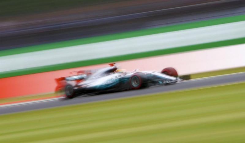 Lewis Hamilton - Mercedes - Slverstone - 2017