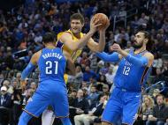 Oklahoma City Thunder-Los Angeles Lakers (Reuters)