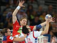 Andebol: Sérvia-Noruega (Reuters)