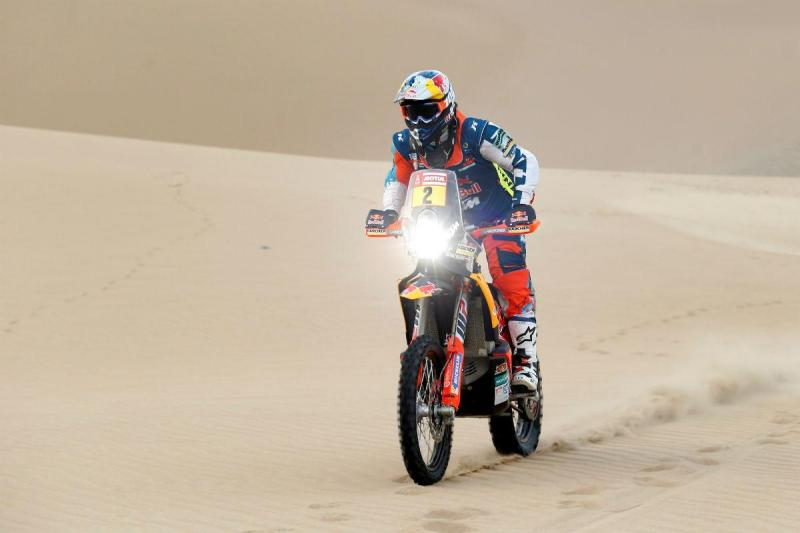 Matthias Walkner - Dakar 2018 (Reuters)