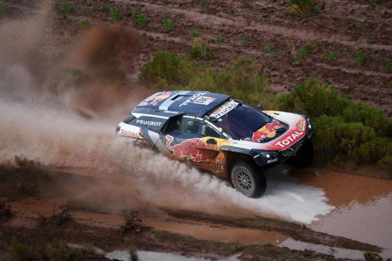 carklos Sainz - Dakar 2018 (Reuters)