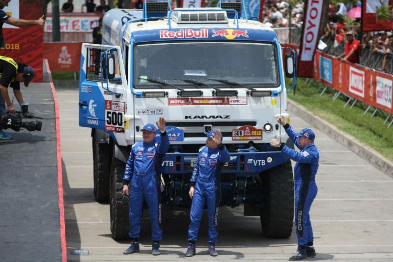 Edouard Nikolaev (Kamaz) - Dakar 2018 (Reuters)