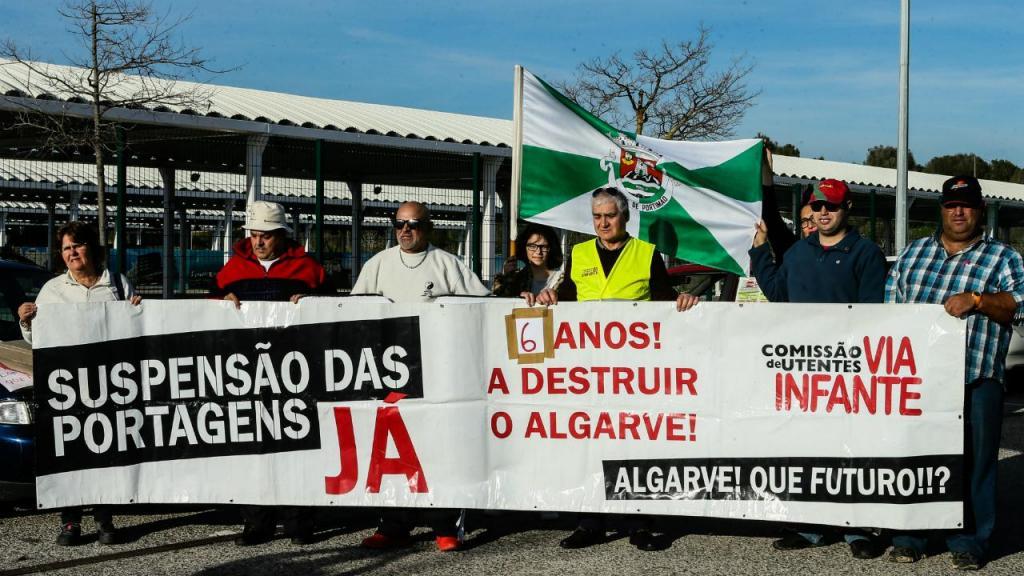 Protestos na EN 125
