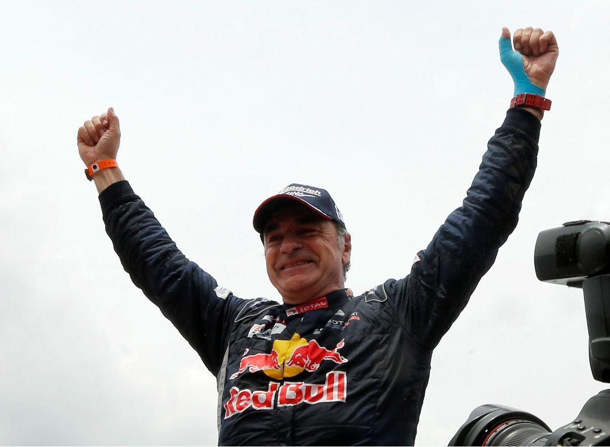 Carlos Sainz - Dakar 2018 (Reuters)