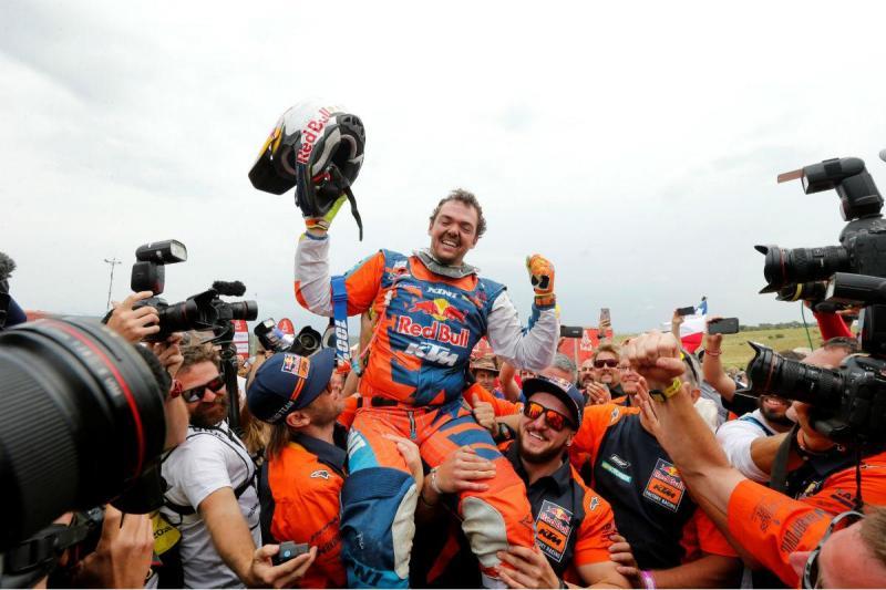 Matthias Walkner - Dakar 2018 (Reuters)