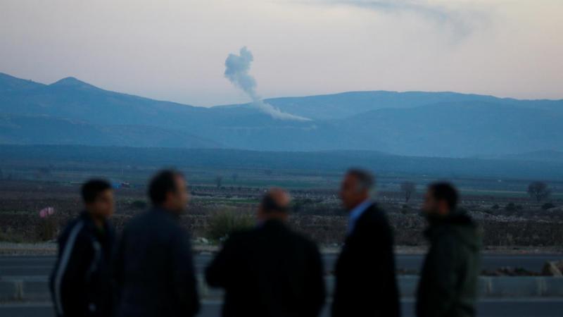 Ofensiva do exército turco em Afrine, na Síria