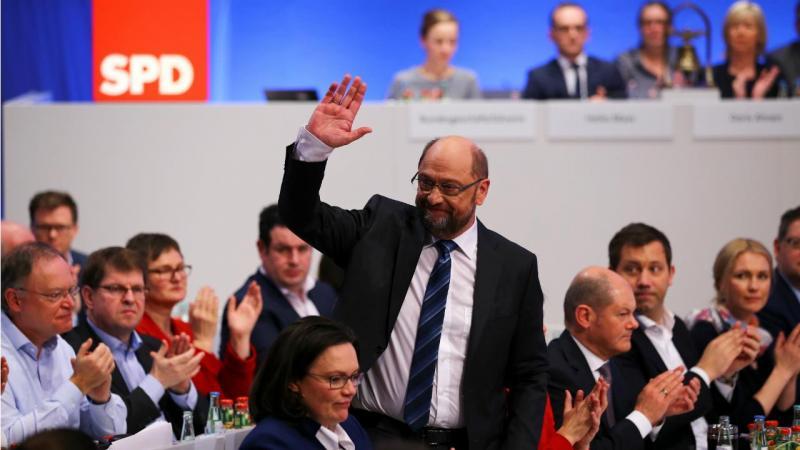 Martin Schulz - Congresso SPD (Bona)