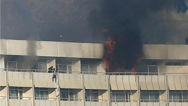 Cabul (Afeganistão) - Ataque a hotel