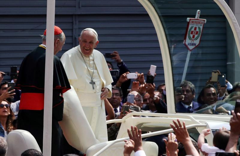 Papa Francisco no Chile e no Peru