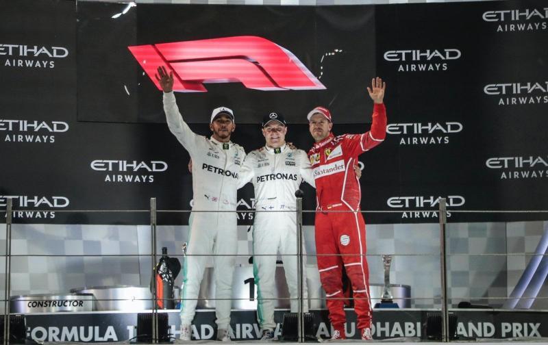 Novo logo da F1 foi apresentado depois do GP de Abu Dhabi