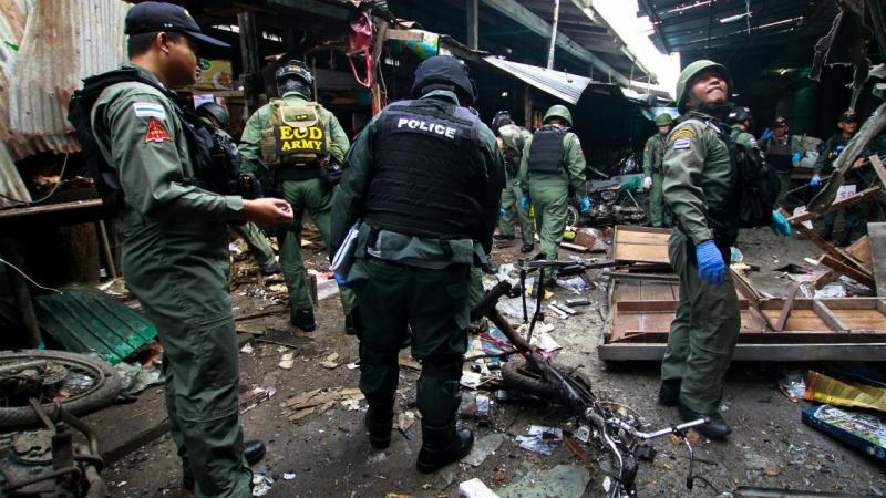 Ataque em mercado na Tailândia
