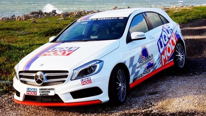 Mercedes celebra parceria com Liqui Moly