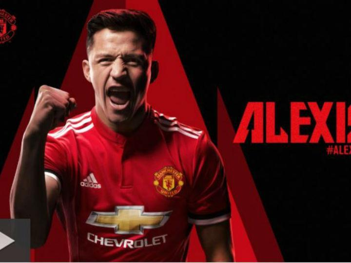 Alexis Sanchez no Manchester United