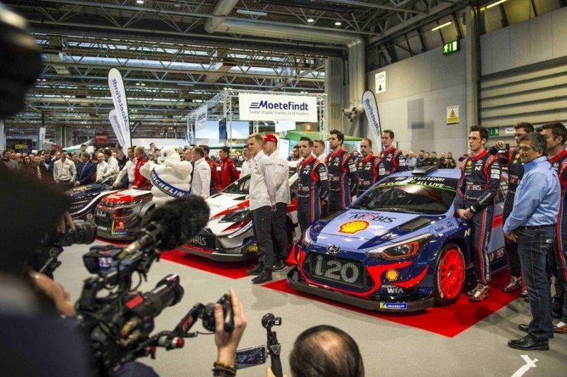 Temporada 2018 do WRC promete ser renhida