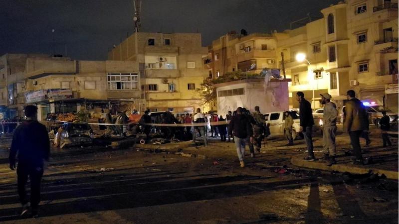 Atentado na Líbia