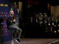 Despedida de Mascherano (foto Reuters)
