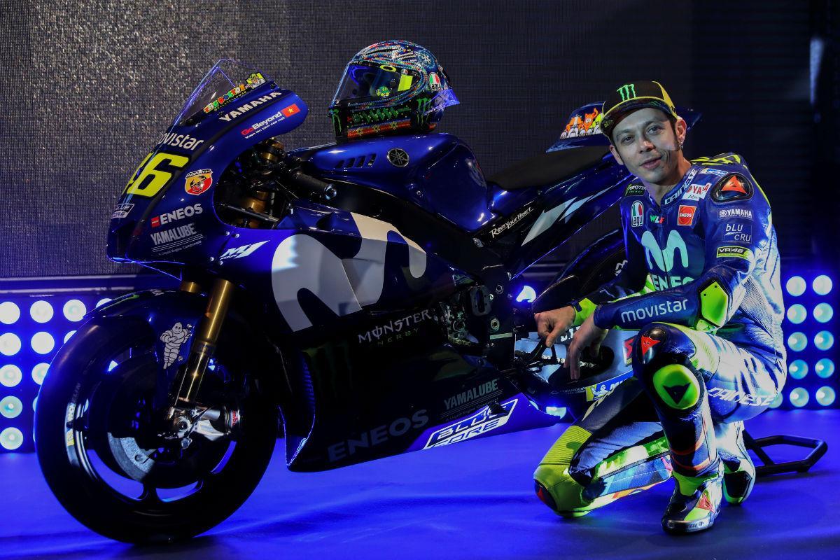 Apresentação Yamaha MotoGP 2018 (Reuters)