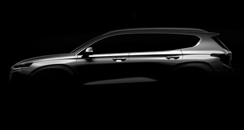 Primeiro olhar do novo Hyundai Santa Fe
