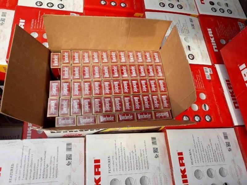 Tabaco de contrabando apreendido