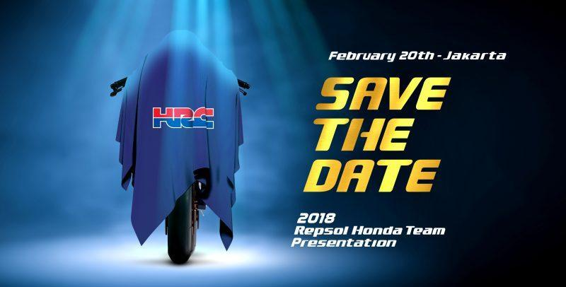 Honda Repsol vai apresentar projeto 2018 na Indonésia