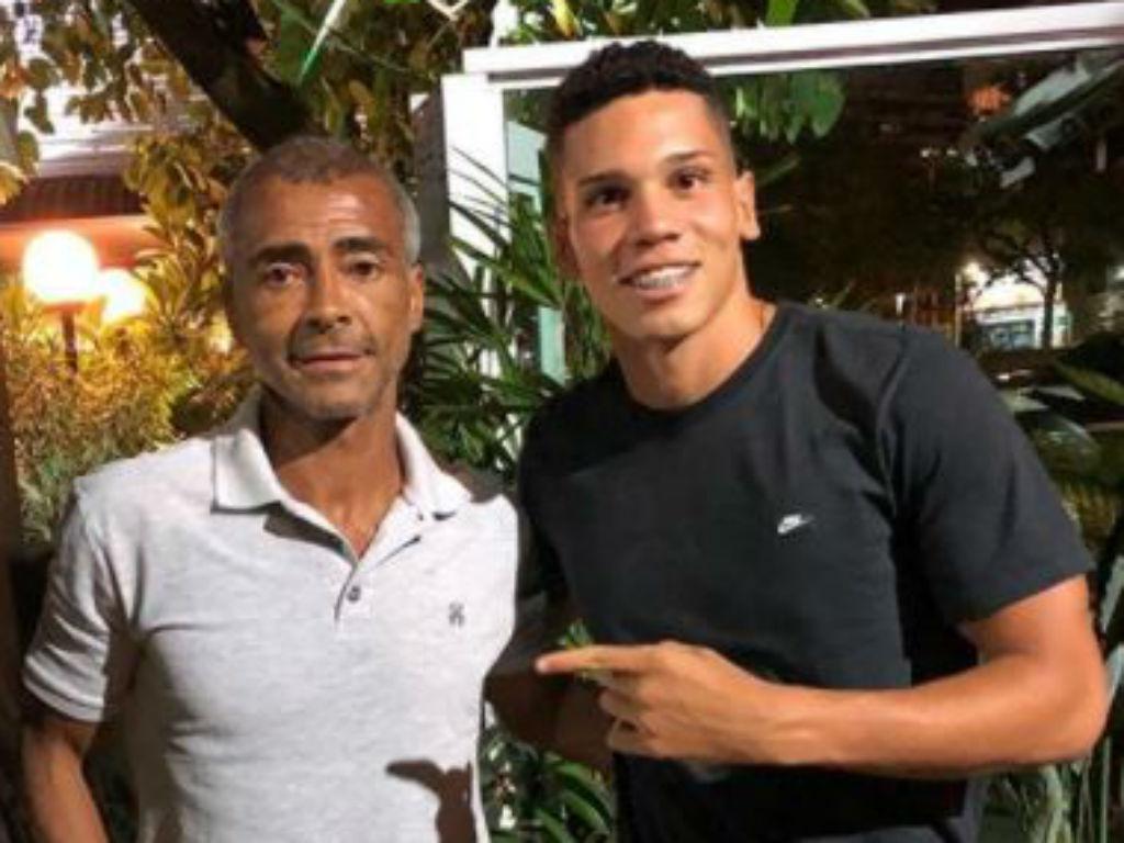 Paulinho e Romário (instagram)
