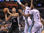Memphis Grizzlies-San Antonio Spurs (Reuters)