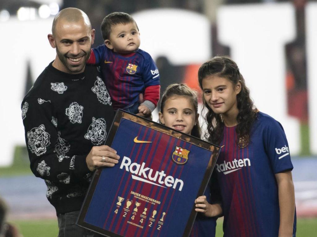O adeus de Mascherano ao Camp Nou