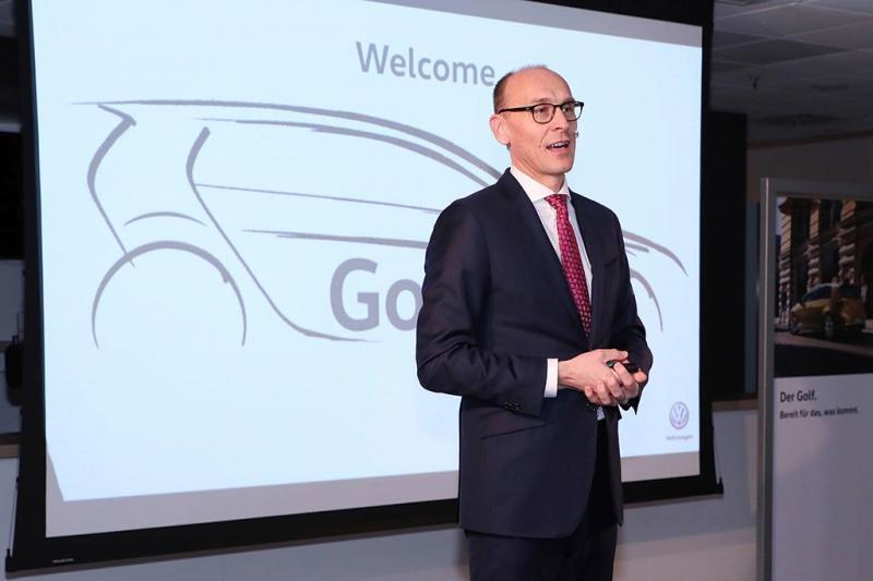 Planos para o VW Golf 8 em curso