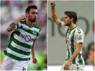 Gonçalo Paciência e Bruno Fernandes
