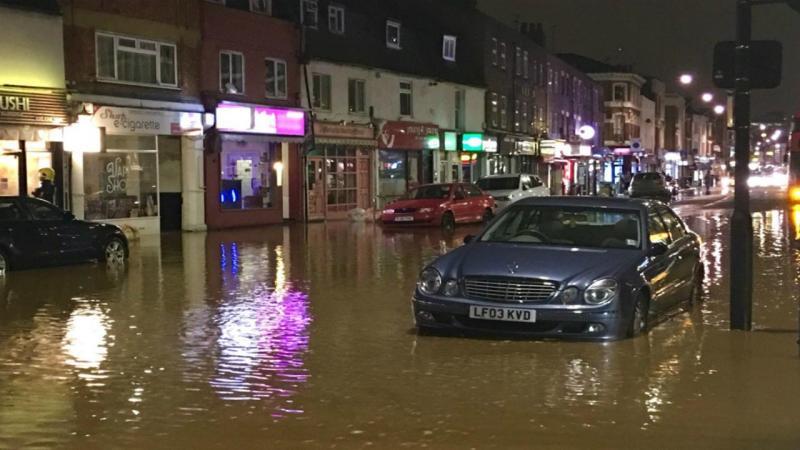 Inundação Londres
