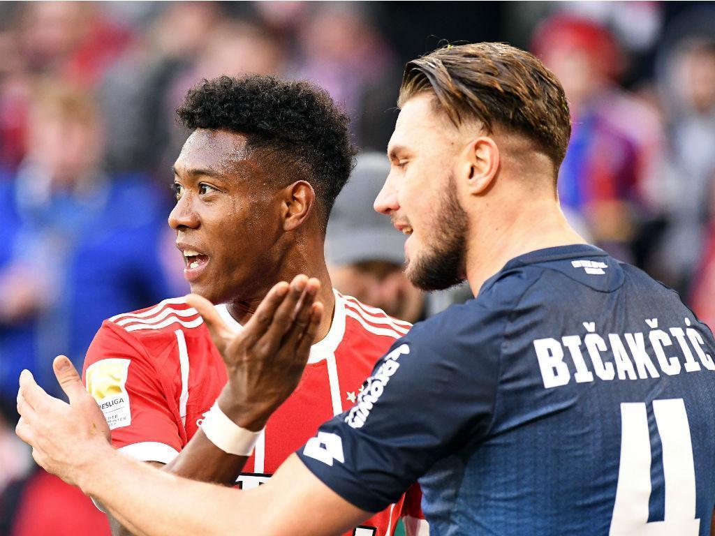 Bayern-Hoffenheim (EPA/LUKAS BARTH )