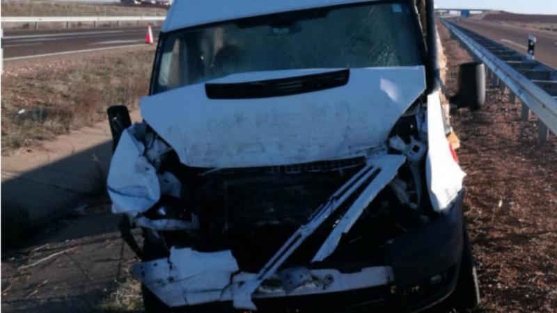 Um morto e sete feridos em acidente com carrinha portuguesa em Salamanca