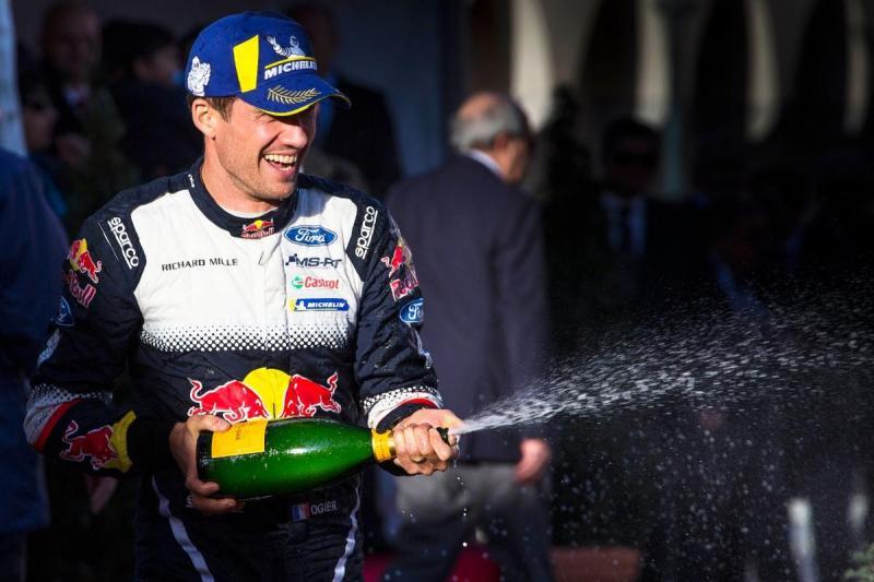 Sébastien Ogier - Rali de Monte Carlo 2018 (Lusa)