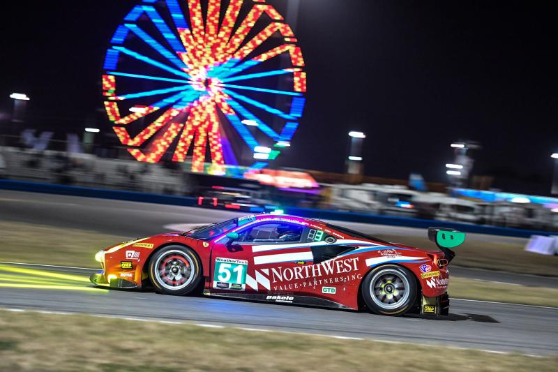 Ferrari 488 GT3 da Spirit of Race nas 24H de Daytona
