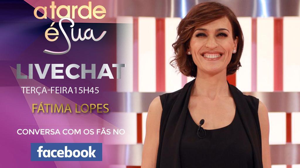 Livechat com Fátima Lopes