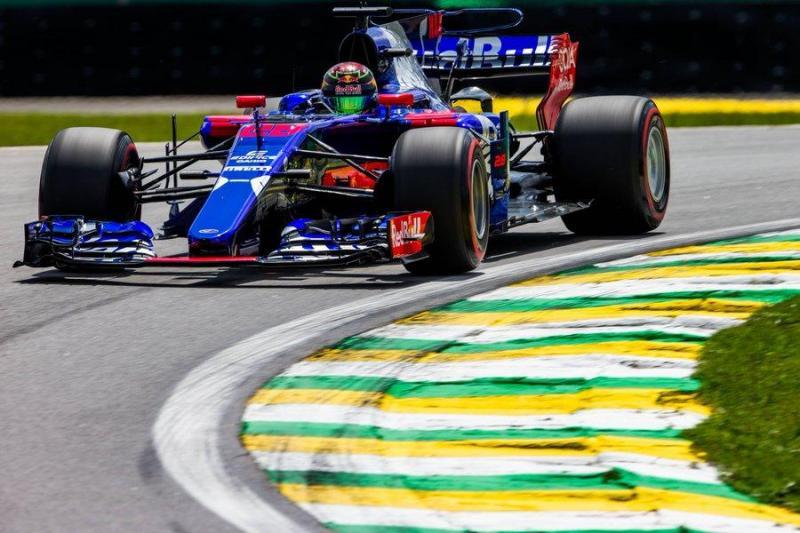 Toro Rosso de Brendon Hartley