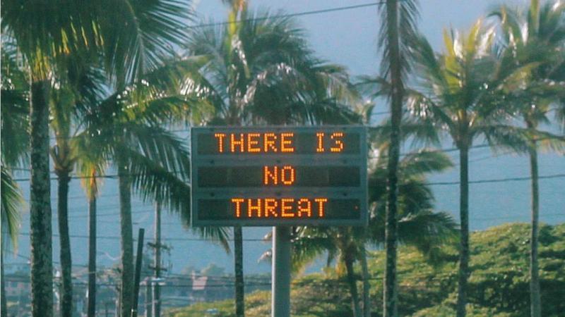 Falso alarme de míssil no Havai