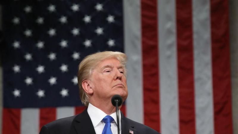 Trump no Estado da União