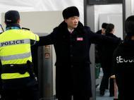 Delegação da Coreia do Norte chega à Coreia do Sul