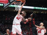 Portland Trail Blazers-Chicago Bulls (Reuters)