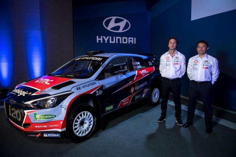 Armindo Araújo e Luís Ramalho - Team Hyundai Portugal