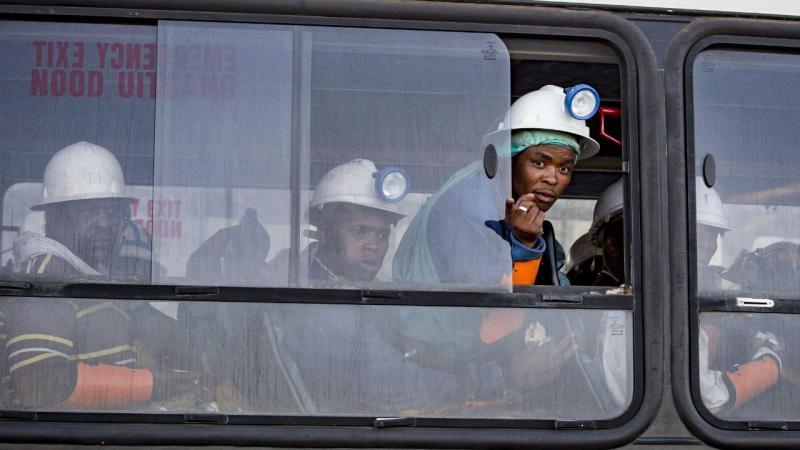 Mineiros sul-africanos